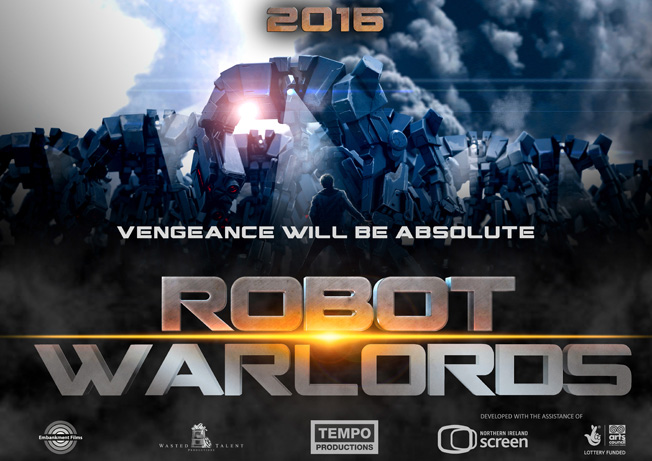 Robot Warlords Poster